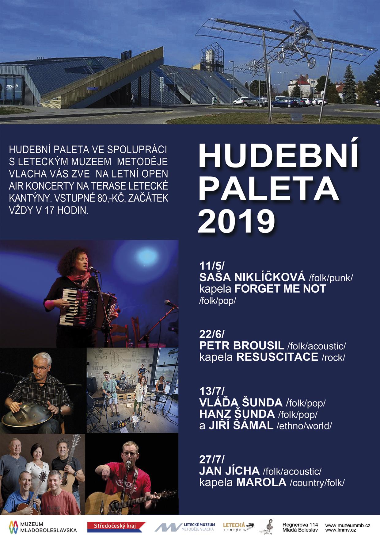Hudební Paleta 2019 – Petr Brousil (folk/acoustic), kapela